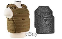 Revêtement De Base Frag De Gilet Pare-balles Ar500 Anti-balles Pour Corps Blindé - Exp Tan