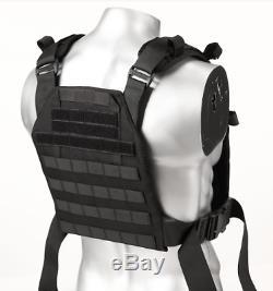 Revêtement De Base Pour Gilet Anti-balles Ar500 Body Armour - Noir M-xxl
