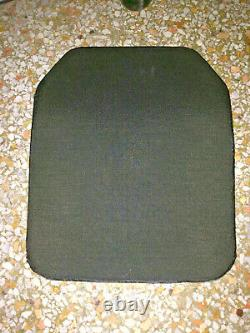 Sac À Dos D'armure De Corps De Plaque De Fusil Balistique Sapi Armure 10x12 Composite Céramique
