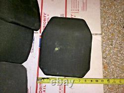 Sapi Balistique Plaque De Fusil Gilet Pare-balles Armure Composite 8x10