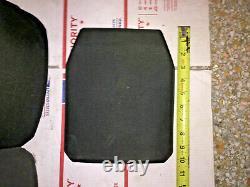 Sapi Balistique Plaque De Fusil Gilet Pare-balles Armure Sac À Dos Composite 8x10 ^
