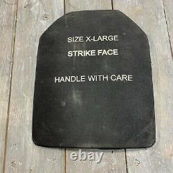 Sapi III XL Strike Face Armor Plate 7.62mm M80 Ball Protection