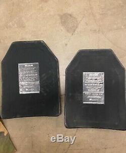 Sapi Militaire Evo Corps Curve Armure Plate 1 Xl, 1 L, 2 M. Vendrons Séparément