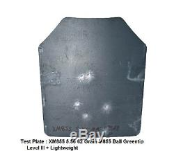 Scorpion Tactique De Niveau III + / Ar500 Armure Du Corps Plaques Bobcat Dissimulation Vest