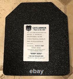 Set D'armure Du Corps De Cati, Plaques De Niveau 3, Tampons Trauma Et Porte-plaque De Condor