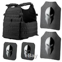 Spartan Armure / Condor Mopc Carrier Plat Et Spartan Omega Ar500 Body Armor Pla
