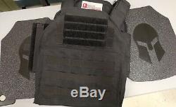Spartan Boucliers Blindés De Body Armor Et Porteur De Niveau III + Ar550