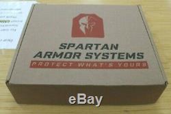 Spartan Omega Ar500 Corps Et Armor Plaque Achille Porte Paquet 10x12