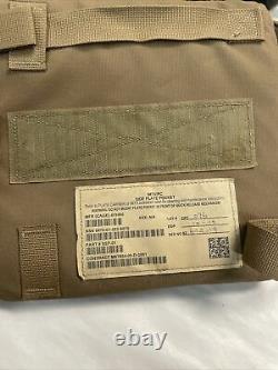 Strike Face 7.62mm Apm2 Protection Plaques Balistiques 6x8 Side Body Armor Lot De 2