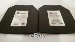 Support De Plaques Ar500 Molle Avec Plaques De Niveau III 10x12 (st5025258)
