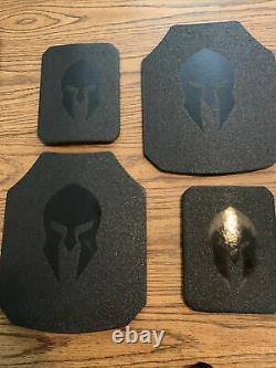 Systèmes D'armure Spartan Plaques Et Colis De Transport D'achille