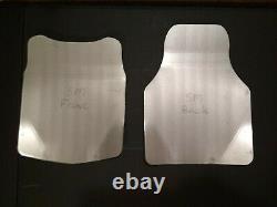 Systèmes De Vélocité Titanium Plaques Balistiques Ulv Petites
