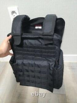 Tactical Scorpion 4pcs Niveau Iii+ / Body Armor Plates 11x14, 6x8 Muircat Vest