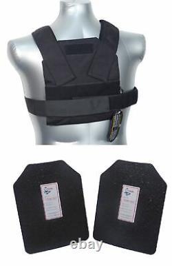 Tactical Scorpion Level Iii+ / Ar500 Body Armor Bobcat 8x10 Gilet Dissimulé