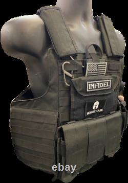 Tactical Vest Plate Support- Black Multicam Coyote Od Fde Armor Plates Disponibles