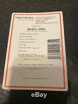 Tactique Scorpion Niveau III + Pe Armure Du Corps Plaques + Gilet Dissimulable Porte
