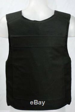 Taille Porte-plaque Body Armor Xl, Gilet Noir Avec Inserts Souples Et Plaques III Qualité