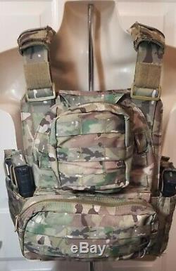 Transporteur Tactique Ar500 Plaques Commander Multicam