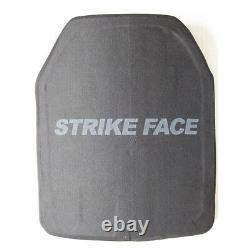 Uhmwpe Hard Armor Plates Armored Level III Sta Single Curve Shape E 10x12 Pouces
