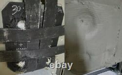 Une Seule Courbe Nij Niveau Iii+ Plaque D'armure Céramique/corps Composite