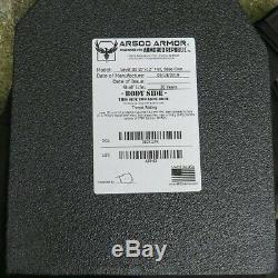 Veritas Lite Plate Bundle Porte W. Plaques De Niveau III (par Ar500 Armure) Noir