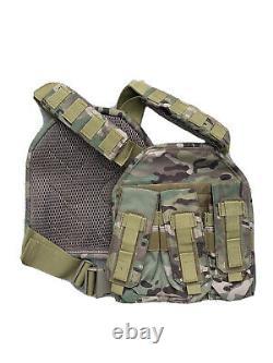 Veste Tactique Avec Le Niveau 3 Plaques Body Armor Bulletproof