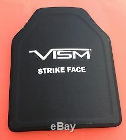 Vism Bpc1012 Strike Face Shooters De Plaques Balistiques Pe Taillés 10x12 Niveau III +