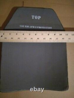 X Grande Grève Face 7.62mm Apm2 Plaques De Protection