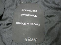 (set Of 2) Black Level III Plaque Ballistic Armure Sapi 7,62 Taille Moyenne